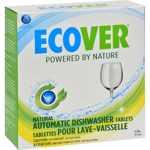 Ecover Automatic Dishwasher Tabs - Case Of 12 - 17.6 Oz