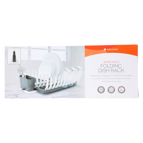 Full Circle Home - Smart Folding Dish Rack - Case Of 4 - Count