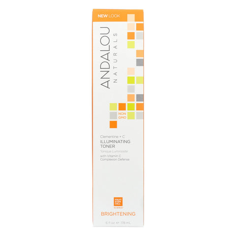 Andalou Naturals Brightening Clementine Plus C Illuminating Toner - 6 Fl Oz