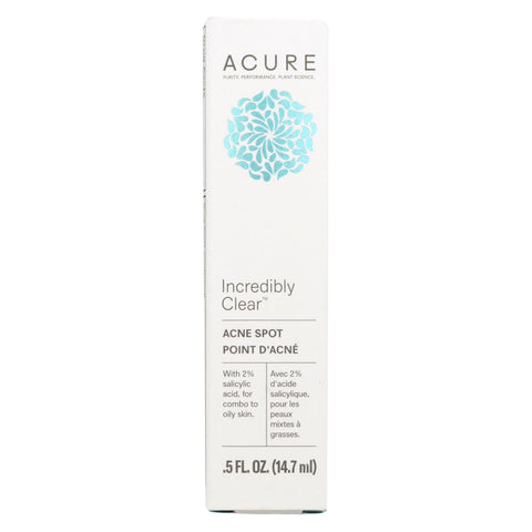 Acure Spot Treatment - Acne - .5 Fl Oz