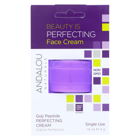Andalou Naturals Face Cream - Perfecing - Case Of 6 - .14 Oz