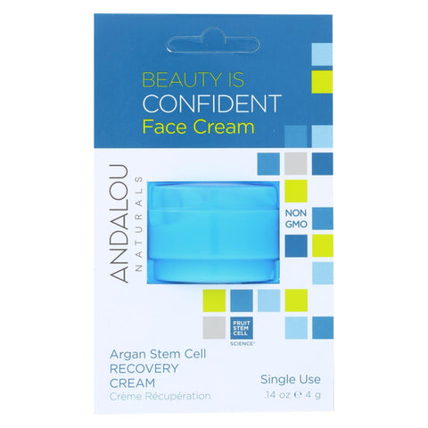 Andalou Naturals Face Cream - Condident - Pod - Case Of 6 - .14 Oz