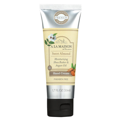 A La Maison - Hand Cream Sweet Almond - 1.7 Fl Oz.