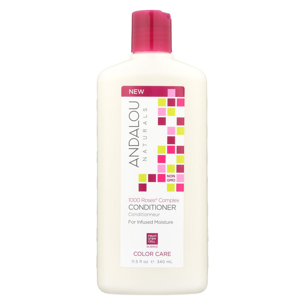 Andalou Naturals Color Care Conditioner -1000 Roses Complex - 11.5 Fl Oz