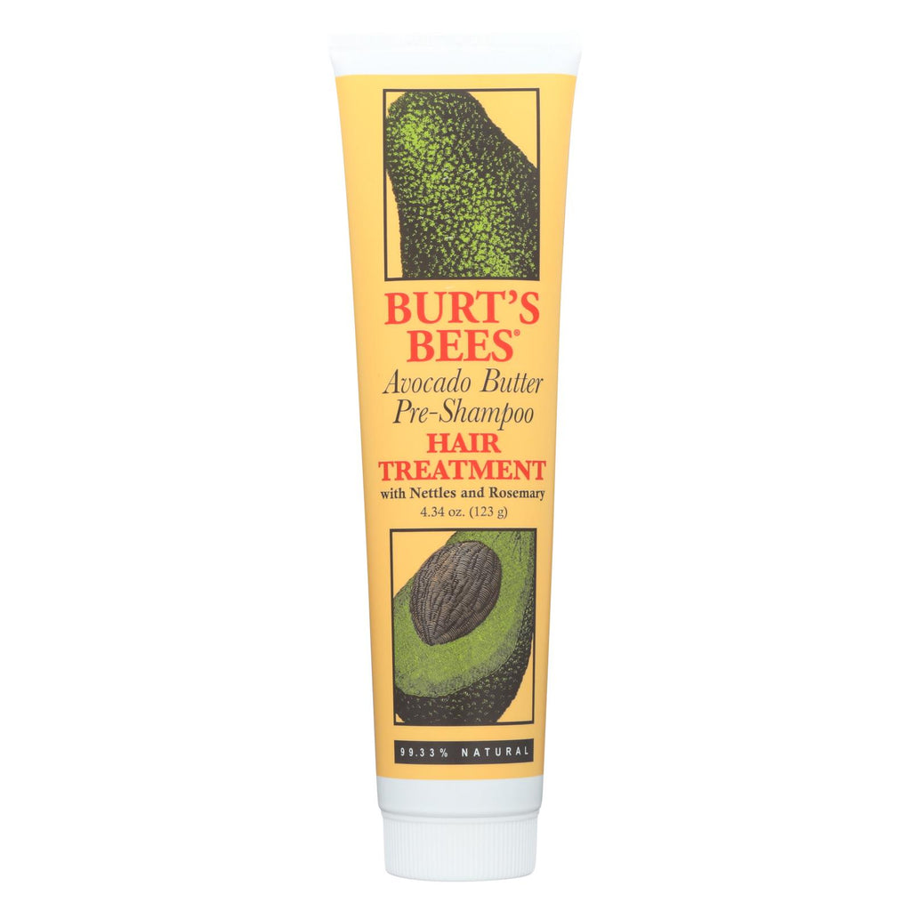 Burts Bees - Hair Trtmt Avo Butter - 4.3 Oz