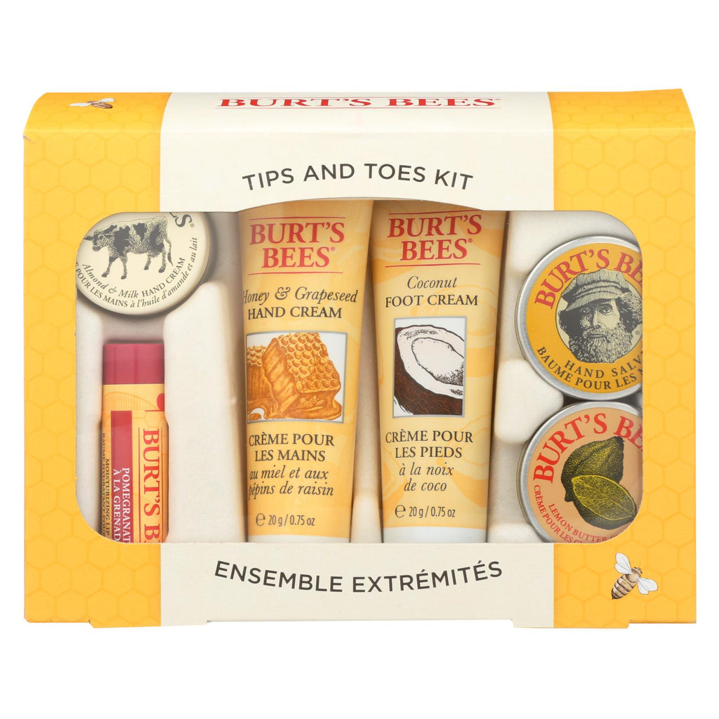 Burts Bees - Cntr Dsp Tips And Toes - Cs Of 3-1 Ct