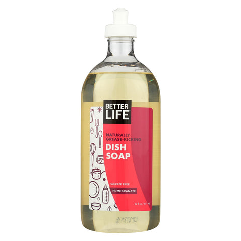 Better Life Dish Soap - Pomegranate - 22 Fl Oz