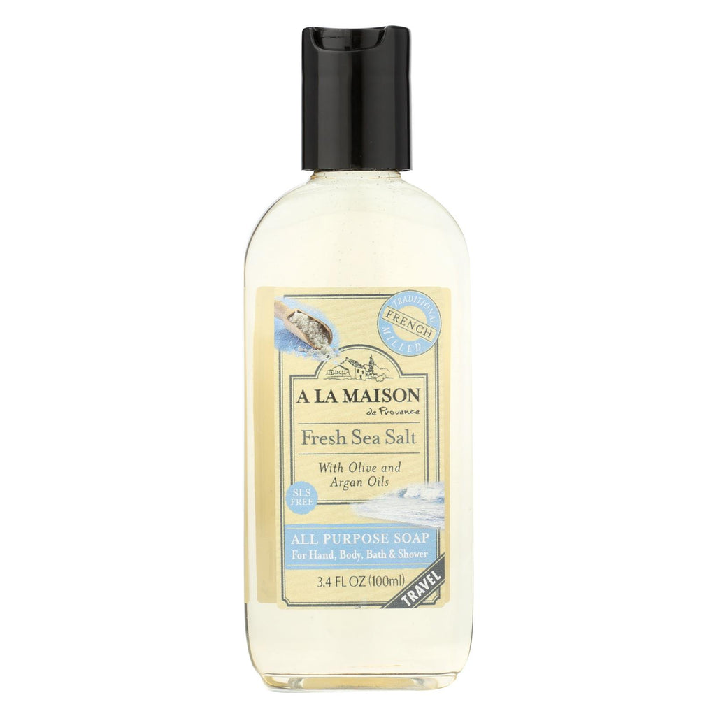 A La Maison Body Wash - Fresh Sea Salt - 3.4 Oz