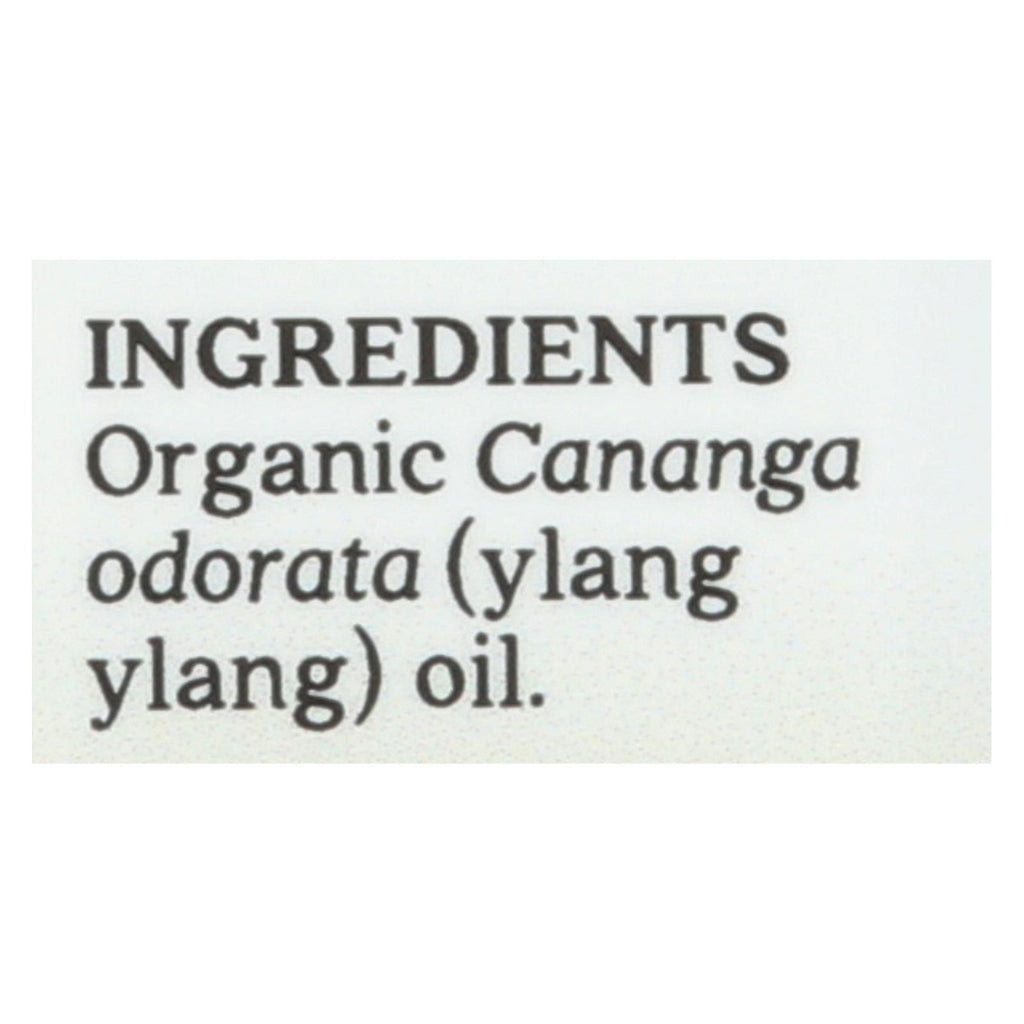 Aura Cacia Essential Oil - Ylang Ylang Complete - Case Of 1 - .25 Fl Oz.