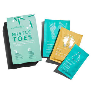 Mistle Toes:  Foot Exfoliation & Hydration Kit