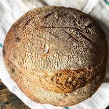 Load image into Gallery viewer, Whole Wheat Sourdough Loaf (Available Saturdays only)
