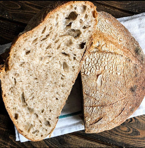 Whole Wheat Sourdough Loaf (Available Saturdays only)