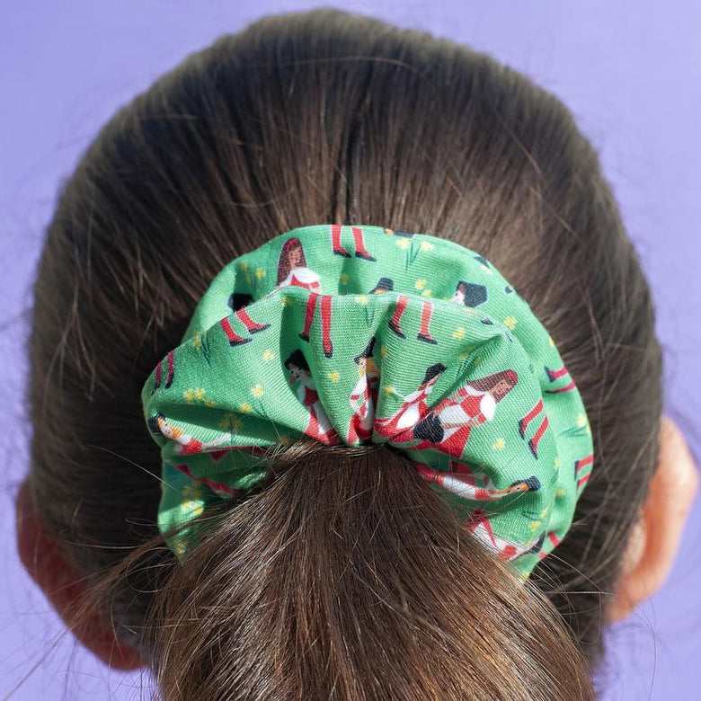 Welsh girls scrunchie