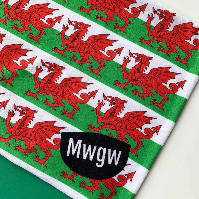 Welsh multipurpose face cover