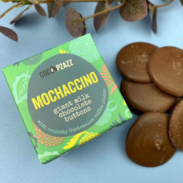 Mochaccino giant chocolate buttons