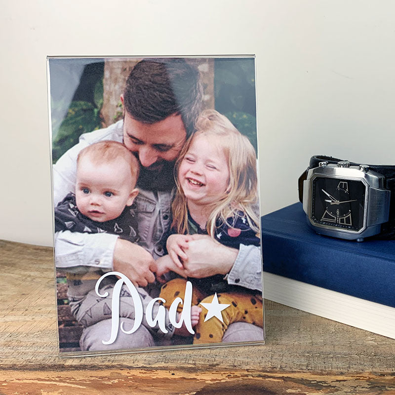 Dad photo frame