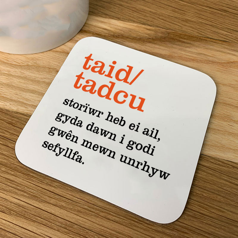 Welsh definition coaster - taid/tadcu