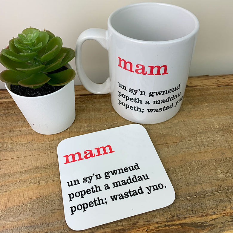 Welsh definition mug - mam