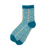 Desen women's socks, peacock