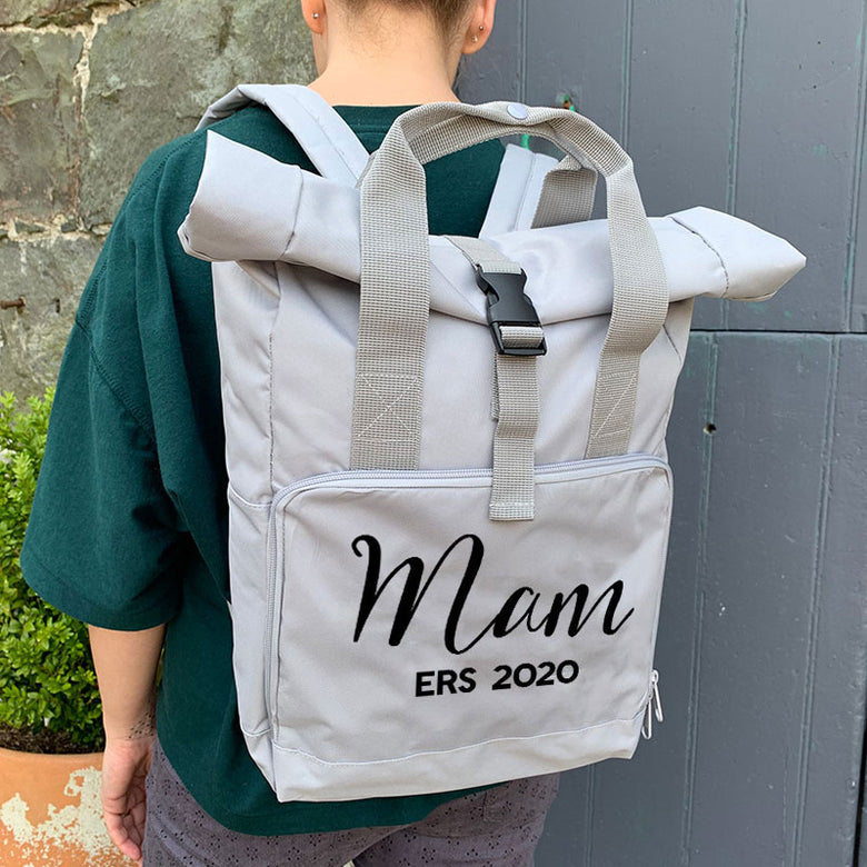 Personalised Mam backpack