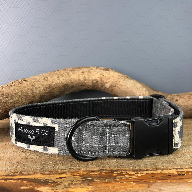 Welsh blanket print dog collar