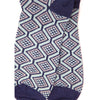 Wave men's socks, denim blue