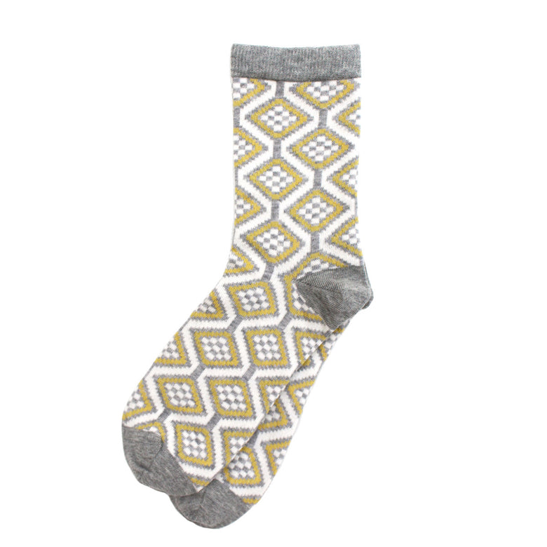 Wave women's socks, grey