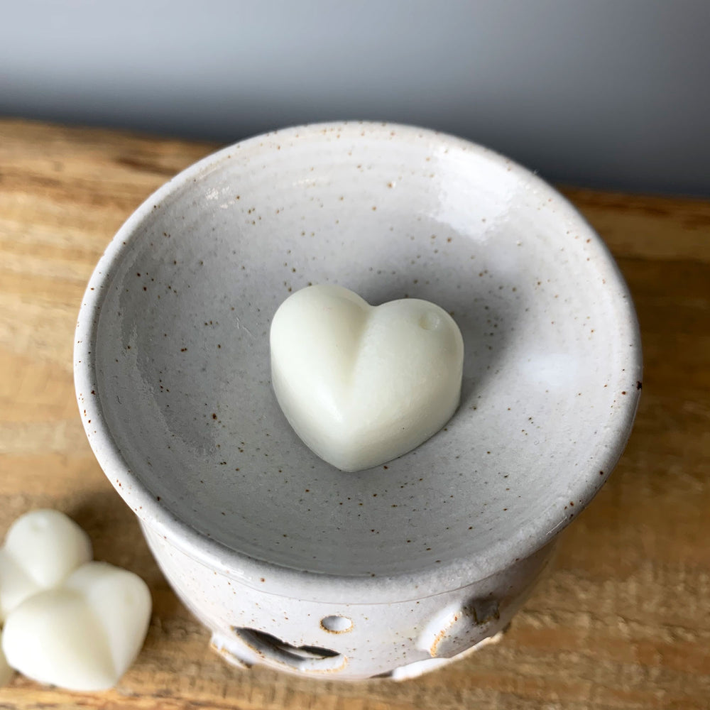 Handmade wax melt burner
