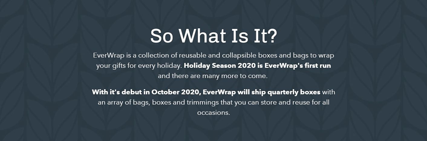 What is EverWrap Reusable Gift Wrap