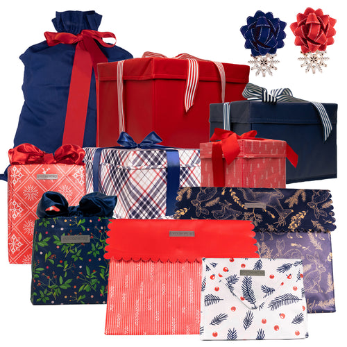 12-piece Gift Wrap Collection in CABIN - EverWrap