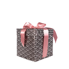 Load image into Gallery viewer, 2 Piece Gift Boxes Heavy Duty with Ribbon Closure Built-In to the Collapsible Reusable Gift Box - EverWrap