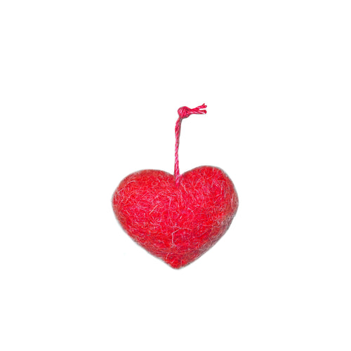 Charm: Felted Wool Red Heart - EverWrap