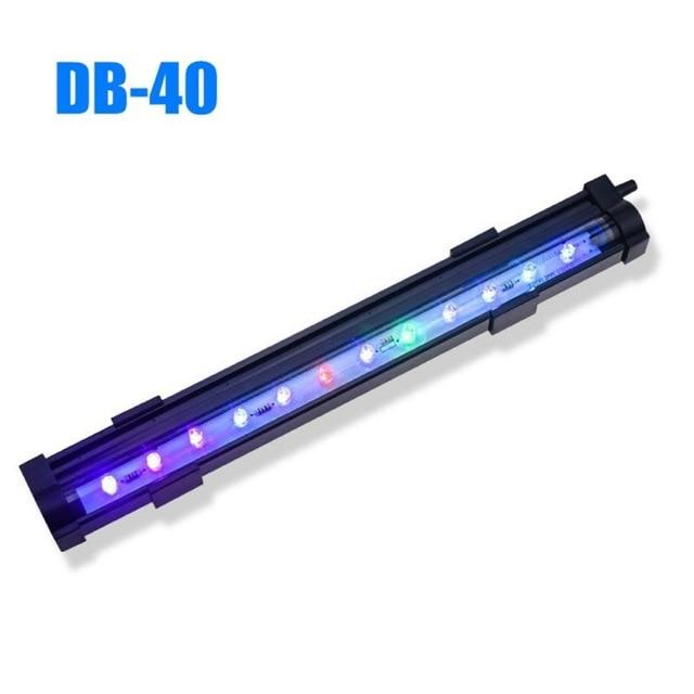 15-35CM Aquarium Fish Tank LED Bubble Light Diving Light Colorful Light Waterproof Strip Light Lamp EU US Plug Free Shipping - GoJohnny437