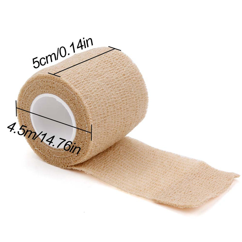 1/6/10/20Pcs Disposable Bandage Tattoo Sport Wrap Tape Self Adhesive Elastic Bandage Tape Tattoo Permanent Makeup Accessories - GoJohnny437