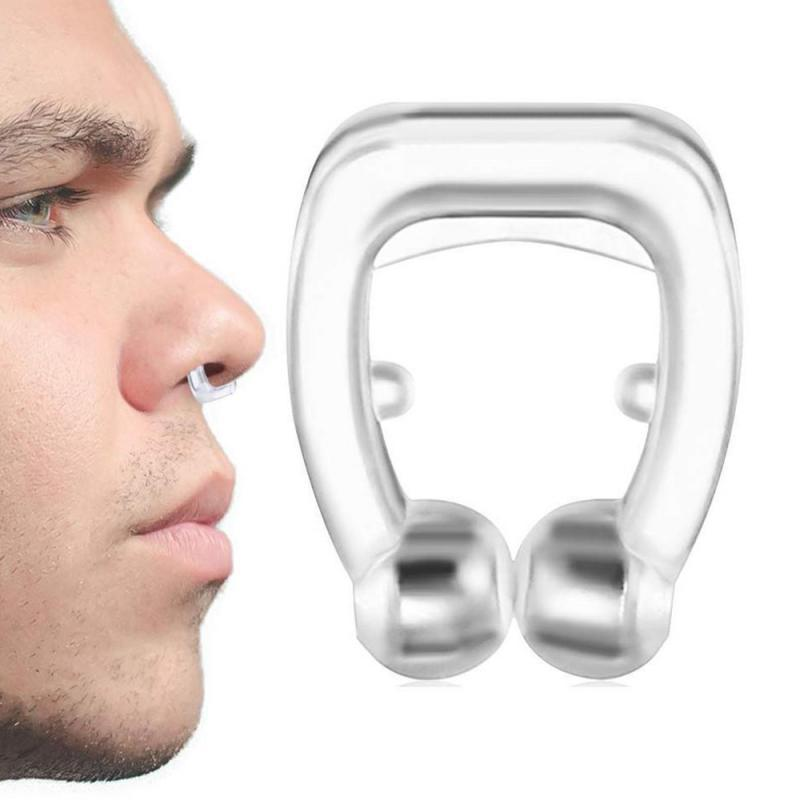 1pc Mini nasal stopper Nose clip snoring magnetic nose clip for adult suitable with box - GoJohnny437