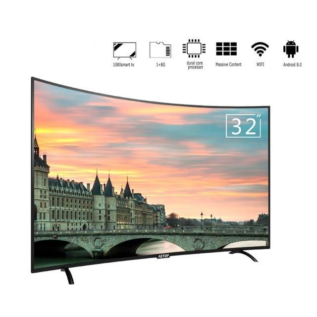 Matrix tv 32 inch tv smart television led curved screen tv android  with wifi