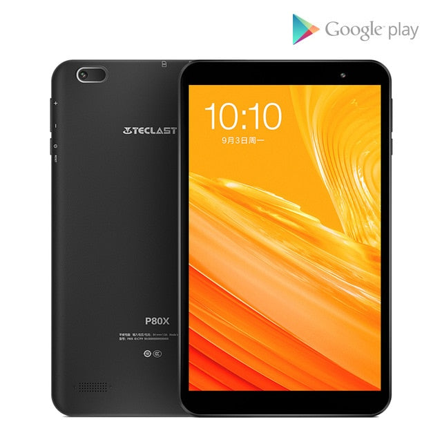 Teclast P80X 4GTablet Android 9.0 SC9863A IMG GX6250 8inch 1280 x 800 IPS Octa Core 1.6GHz 2GB RAM 32GB ROM Dual Cameras Tablet