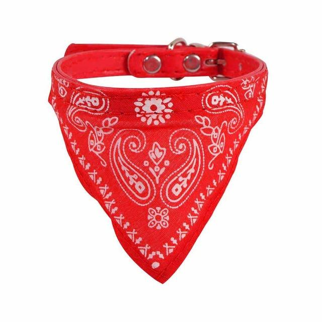 Adjustable Pet Dog Puppy Cat Neck Scarf Bandana Collar Neckerchief Bandana Collar Neckerchief Dog Accessories Grooming #40 - GoJohnny437