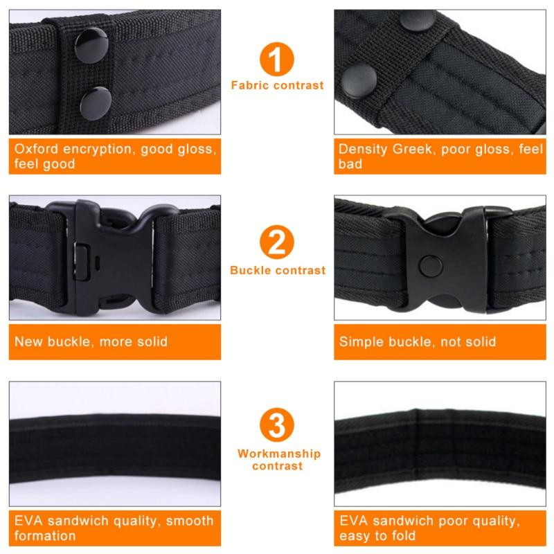 Army Style Combat Belts Quick Release Tactical Belt Fashion Men Canvas Waistband - GoJohnny437