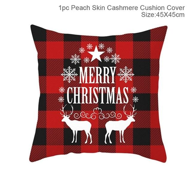Christmas Pillowcases Merry Christmas Decor for Home Noel Christmas Gifts Navidad Decor - GoJohnny437