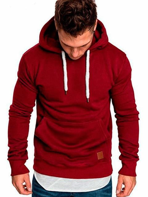 Covrlge Mens Sweatshirt Long Sleeve Autumn Spring Casual Hoodies Top Boy Blouse Tracksuits Sweatshirts Men Hoodies - GoJohnny437