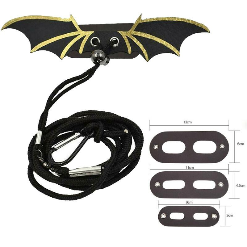 Creative Solid Color Adjustable Lizard Leather Traction Rope With Wings Contains Three Specifications For Most Lizards - GoJohnny437