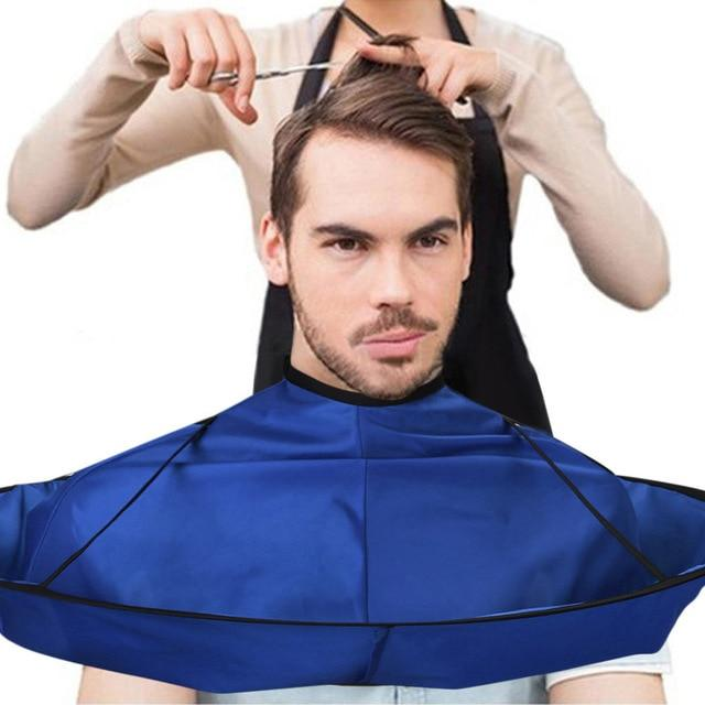 DIY Hair Cutting Cloak Umbrella Cape Salon Barber Salon And Home Stylists Using Hairdressing Cape Cover Cloth Hair Accessories - GoJohnny437