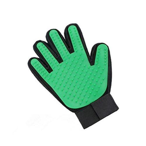 Dog Pet Grooming Glove Silicone Cats Brush Comb Deshedding Hair Gloves Dogs Bath Cleaning Supplies Animal Combs - GoJohnny437