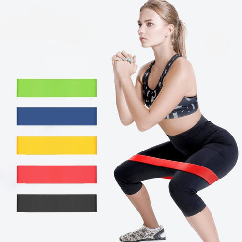 Gym Fitness Resistance Bands Yoga Stretch Pull Up Assist Rubber Bands Crossfit Exercise Training Workout Equipment - GoJohnny437