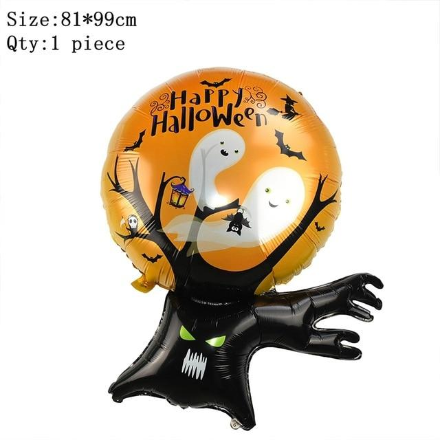 Halloween Balloon Garland Arch Kit Helium Balloons foil Set for Halloween Day Party Decorations Halloween Ornament Props - GoJohnny437