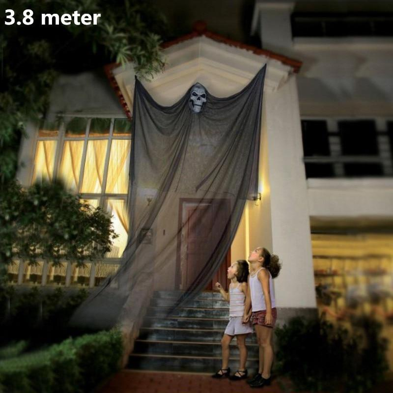 Halloween Decoration Hanging Decor hanging Ghost Corpse 3.8m Cloaks Haunted House Bar Home Garden Decor Halloween Party Supplies - GoJohnny437