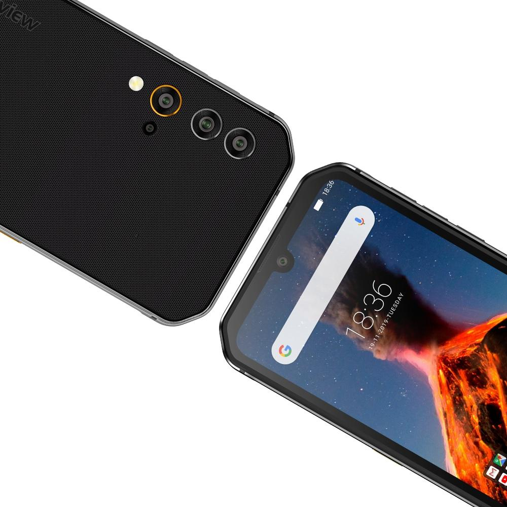 Helio P90 Octa Core 8GB+256GB IP68 Rugged Mobile Phone Android 9.0 48MP Quad Rear Camera NFC Smartphone - GoJohnny437