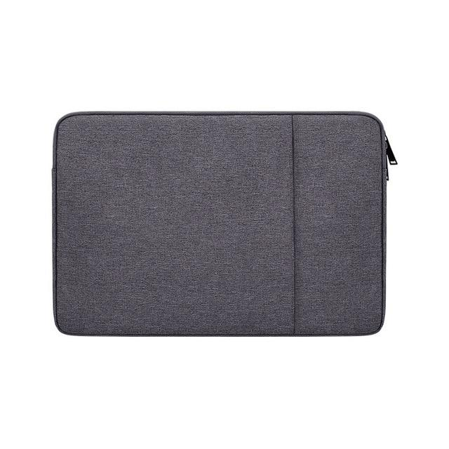 Laptop Sleeve Bag with Pocket for MacBook Air Pro Ratina 11.6/13.3/15.6 inch 11/12/13/14/15 inch Notebook Case Cover for Dell HP - GoJohnny437