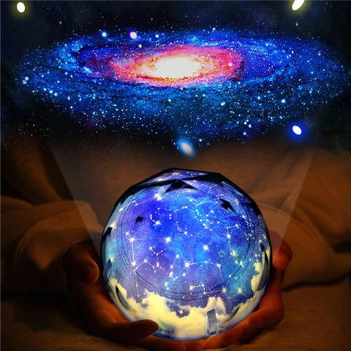LED Night Light Starry Sky Magic Star Moon Planet Projector Lamp Universe Baby Nursery Light For Birthday Gift Led Night Light - GoJohnny437